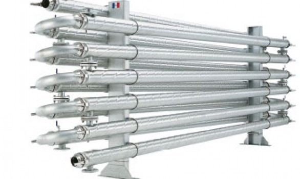 Exchanger tube in tube